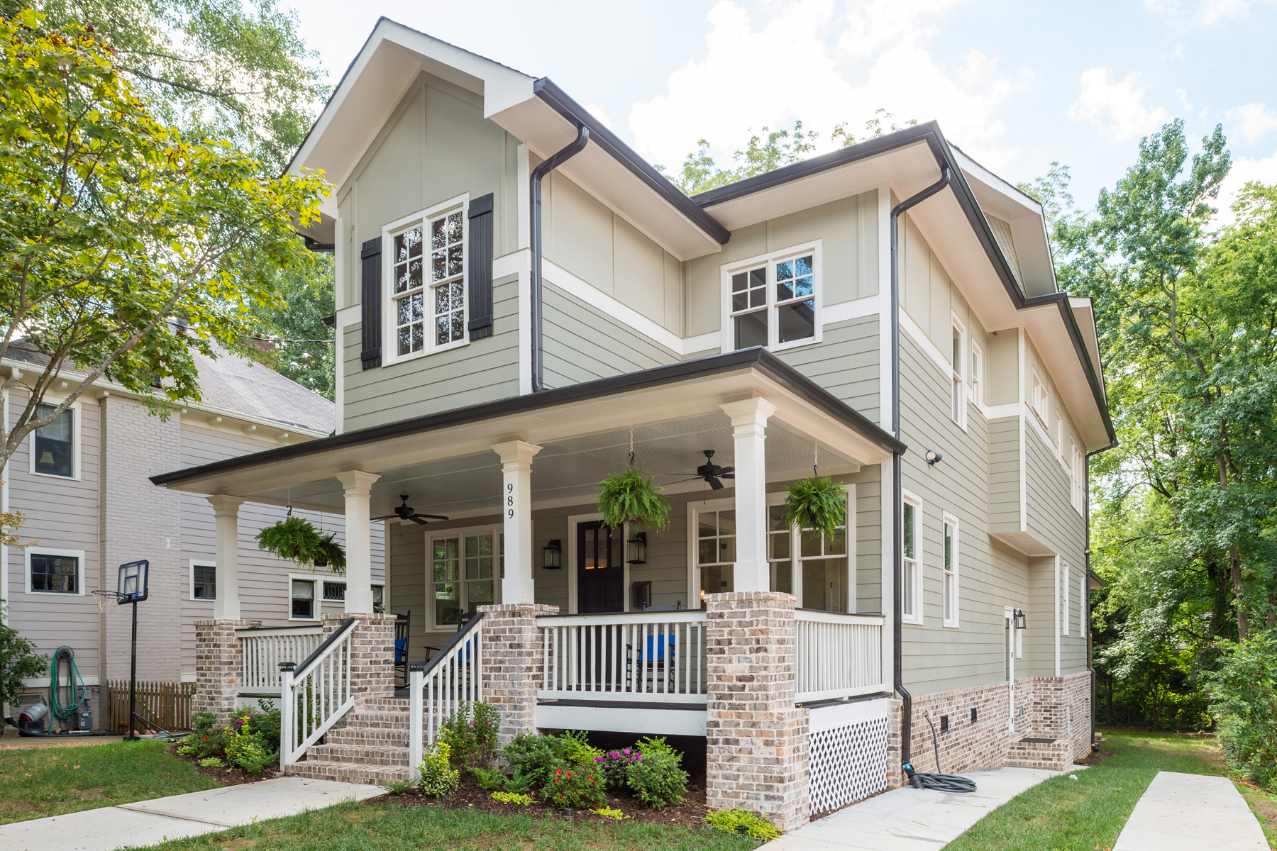 Single Family Home for Sale at Fabulous New Construction Blocks From Virginia Highland Village 989 Drewry Street NE Virginia Highland, Atlanta, Georgia, 30306 United States