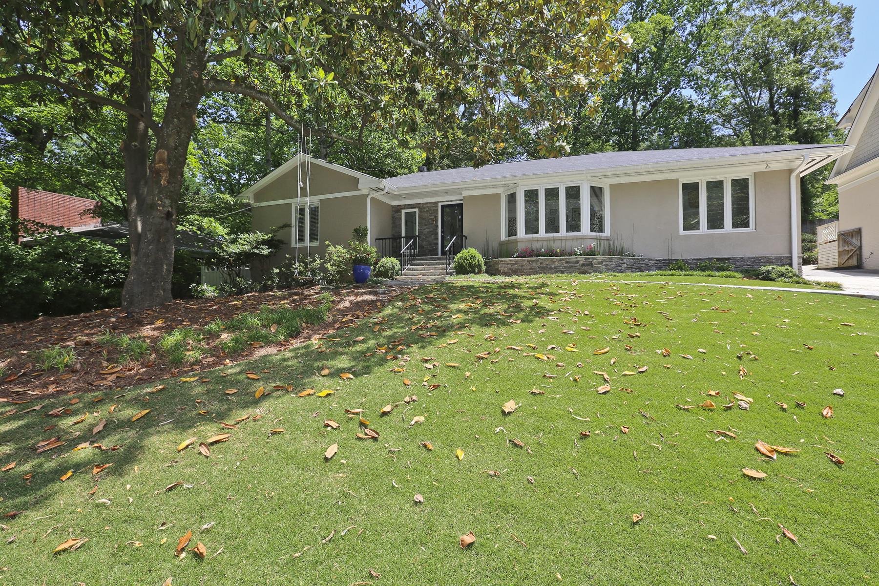 Nhà ở một gia đình vì Bán tại Impeccable Totally Renovated Home In Morningside 1715 Wildwood Road NE Morningside, Atlanta, Georgia, 30306 Hoa Kỳ