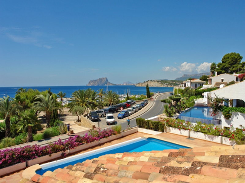 獨棟家庭住宅 為 出售 在 Large villa in El Portet with spectacular views Moraira, Alicante Costa Blanca 03724 西班牙