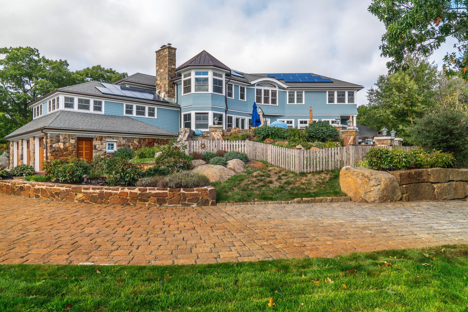 Single Family Home for Sale at Sweeping Ocean Views 25 Penryn Way Rockport, Massachusetts 01966 United States