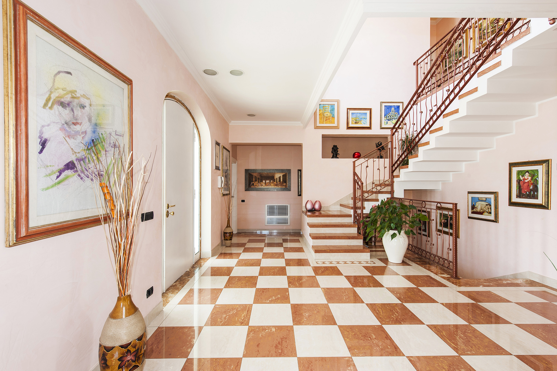 Additional photo for property listing at Villa in Liberty style recently built Rome, Rome Italy