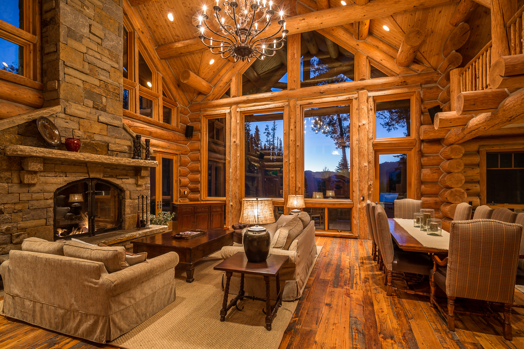 Maison unifamiliale pour l Vente à 132 High Country Telluride, Colorado 81435 États-Unis