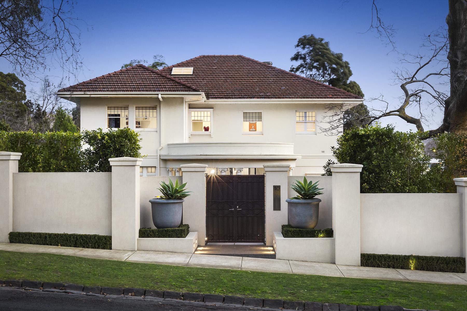 Terreno por un Venta en 10 Struan Street, Toorak Melbourne, Victoria, 3142 Australia