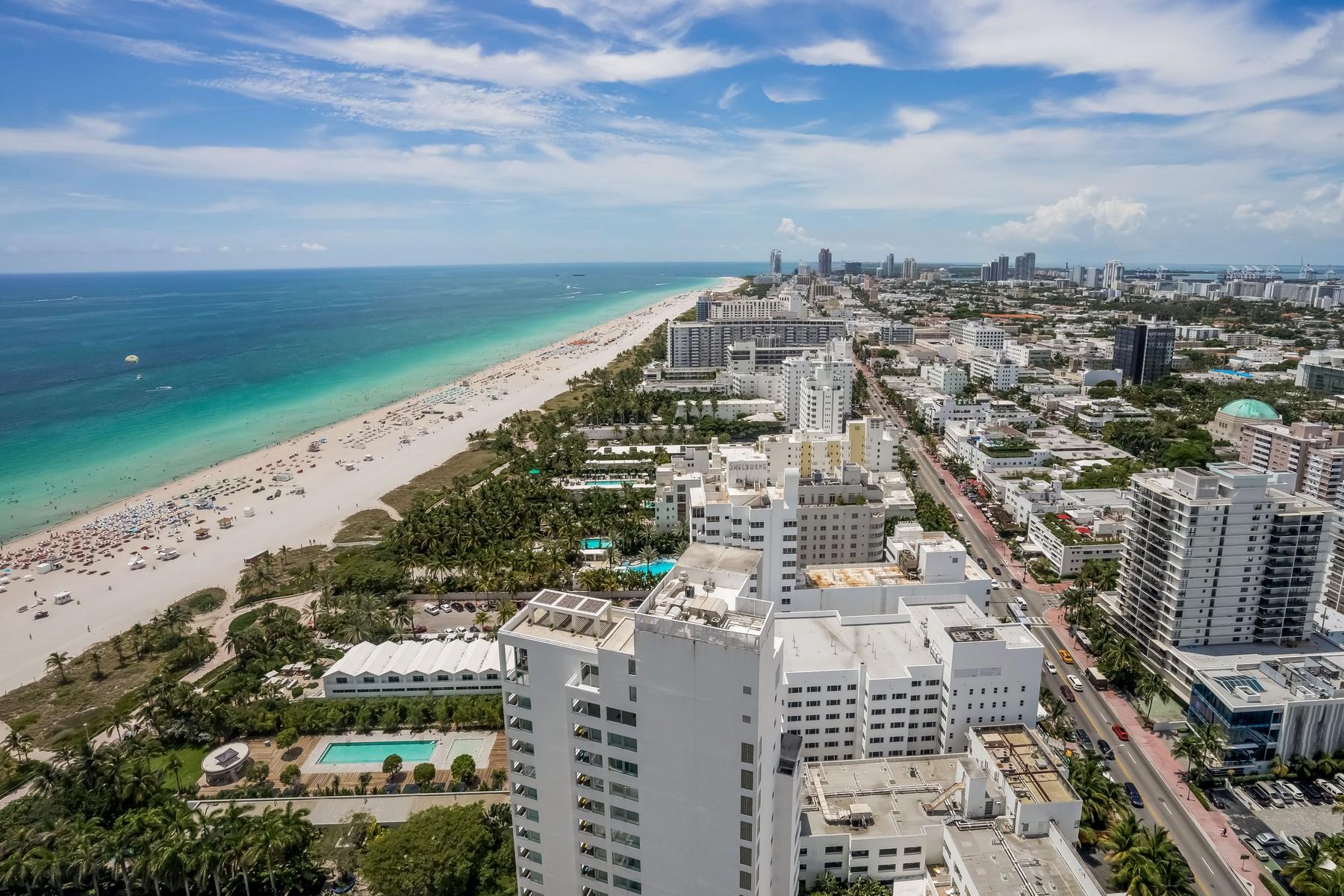 Piso por un Venta en 101 20th St #PH-VC Miami Beach, Florida 33139 Estados Unidos