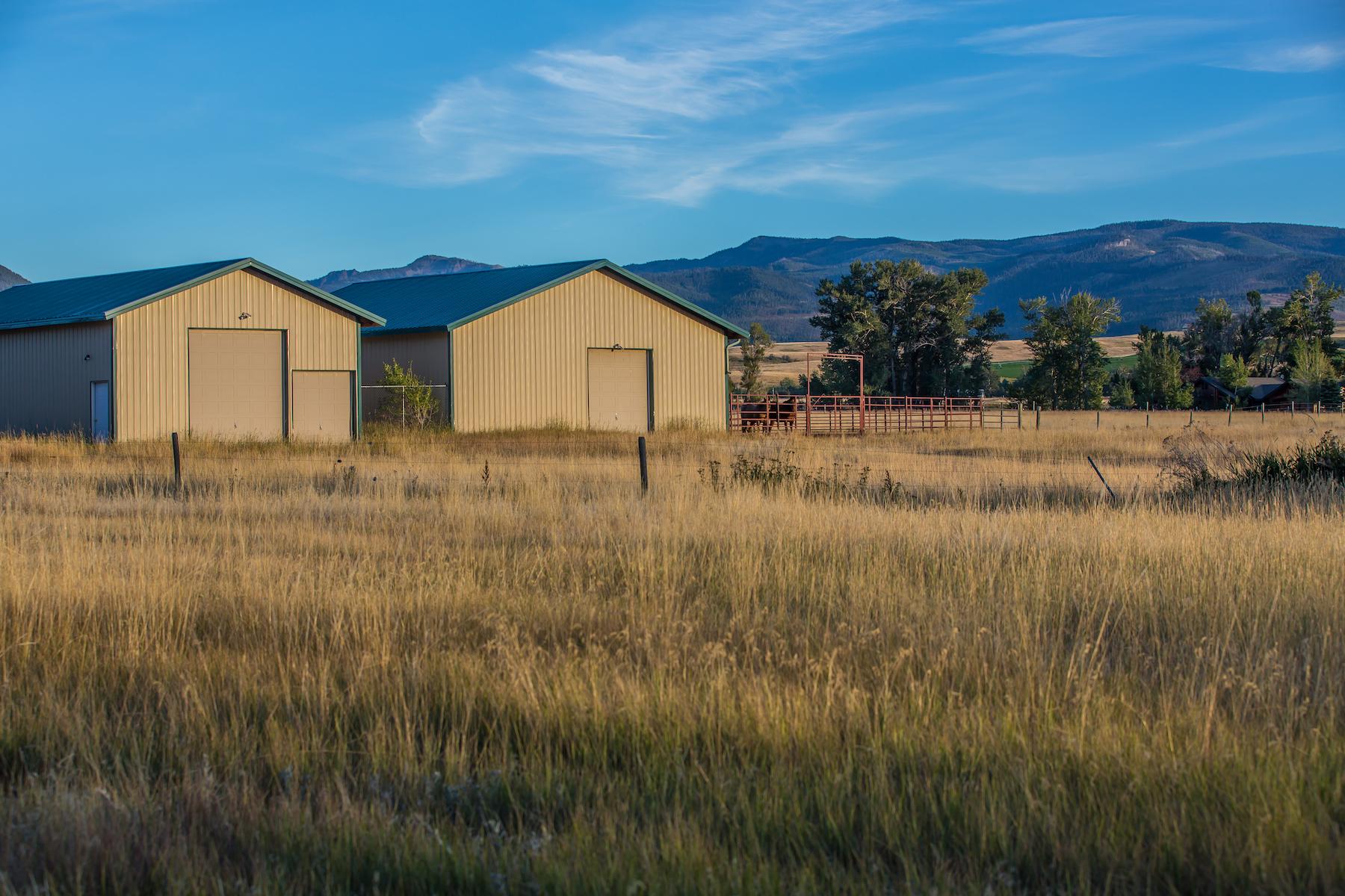 Terrain pour l Vente à 20 Acres on Cottonwood Creek Bushnell Road, Parcel 5 Gallatin Gateway, Montana, 59730 États-Unis