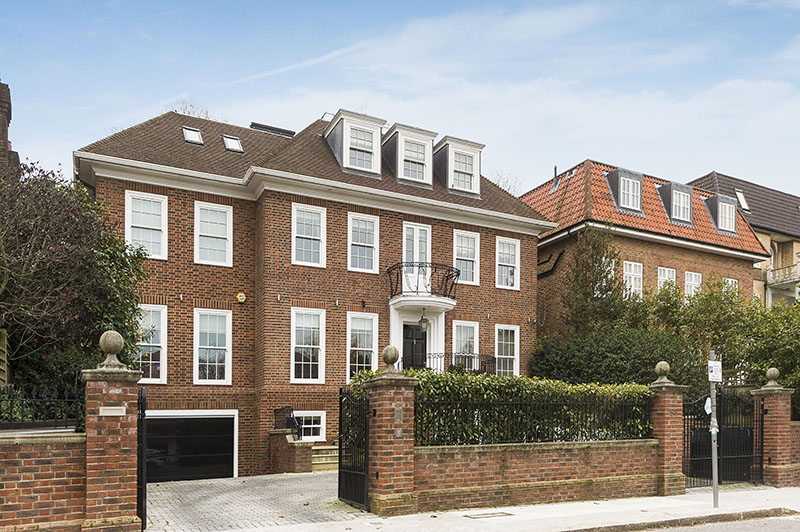 sales property at West Heath Road, Hampstead NW3