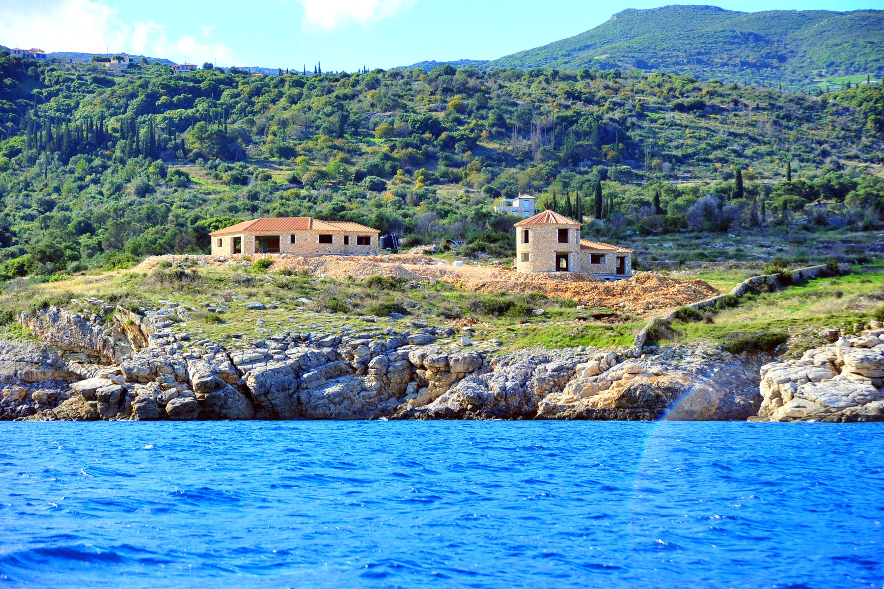 Land for Sale at Sea Front Property in Zakynthos Zakynthos, Ionian Sea Other Greece, Other Areas In Greece, 29100 Greece