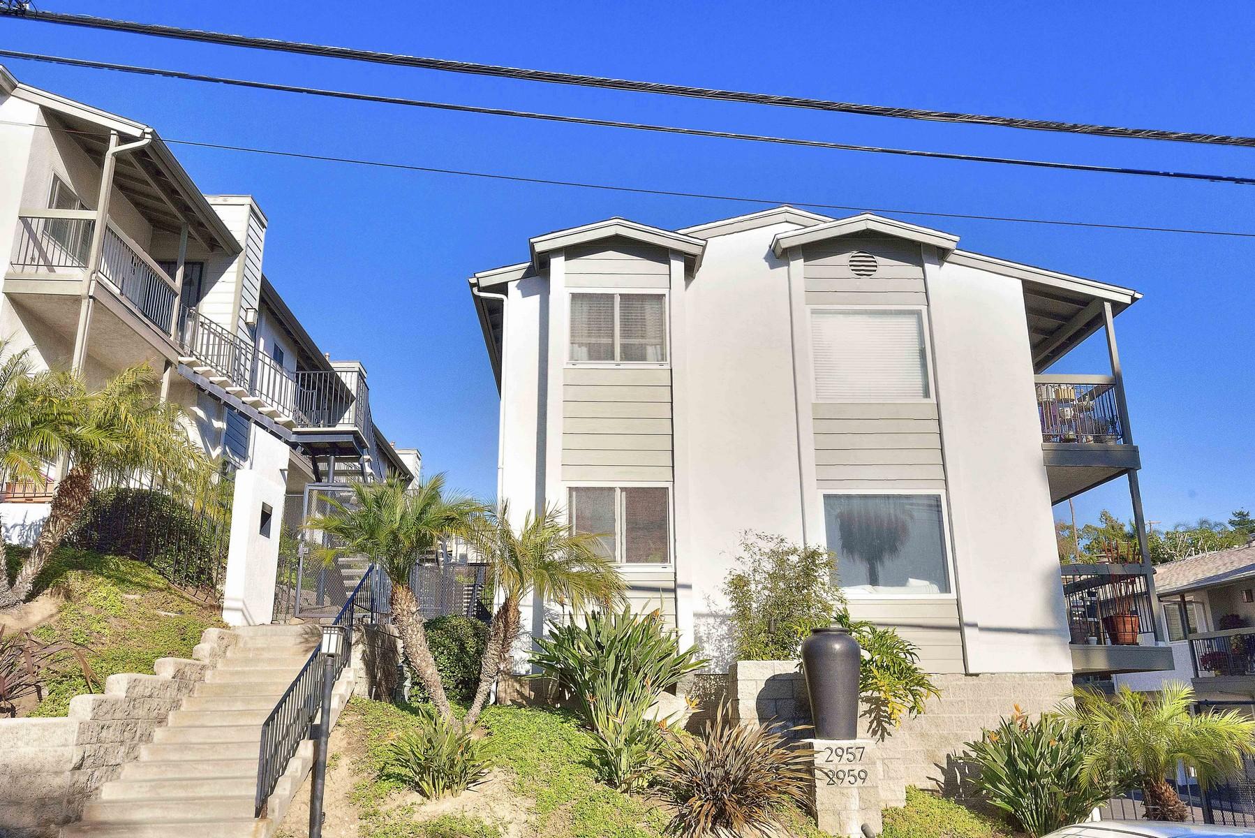Condomínio para Venda às 2957 Columbia Street #10 San Diego, Califórnia, 92103 Estados Unidos