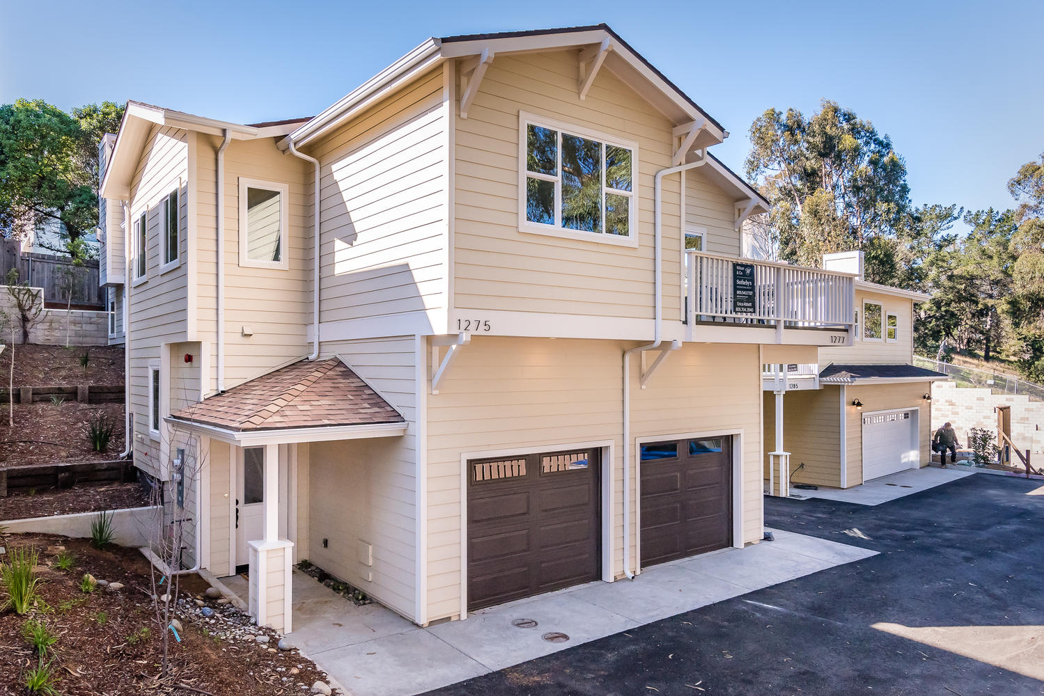 Single Family Home for Sale at New Construction Coastal Home with Guest Home 1275-1277 Main Street Morro Bay, California 93442 United States