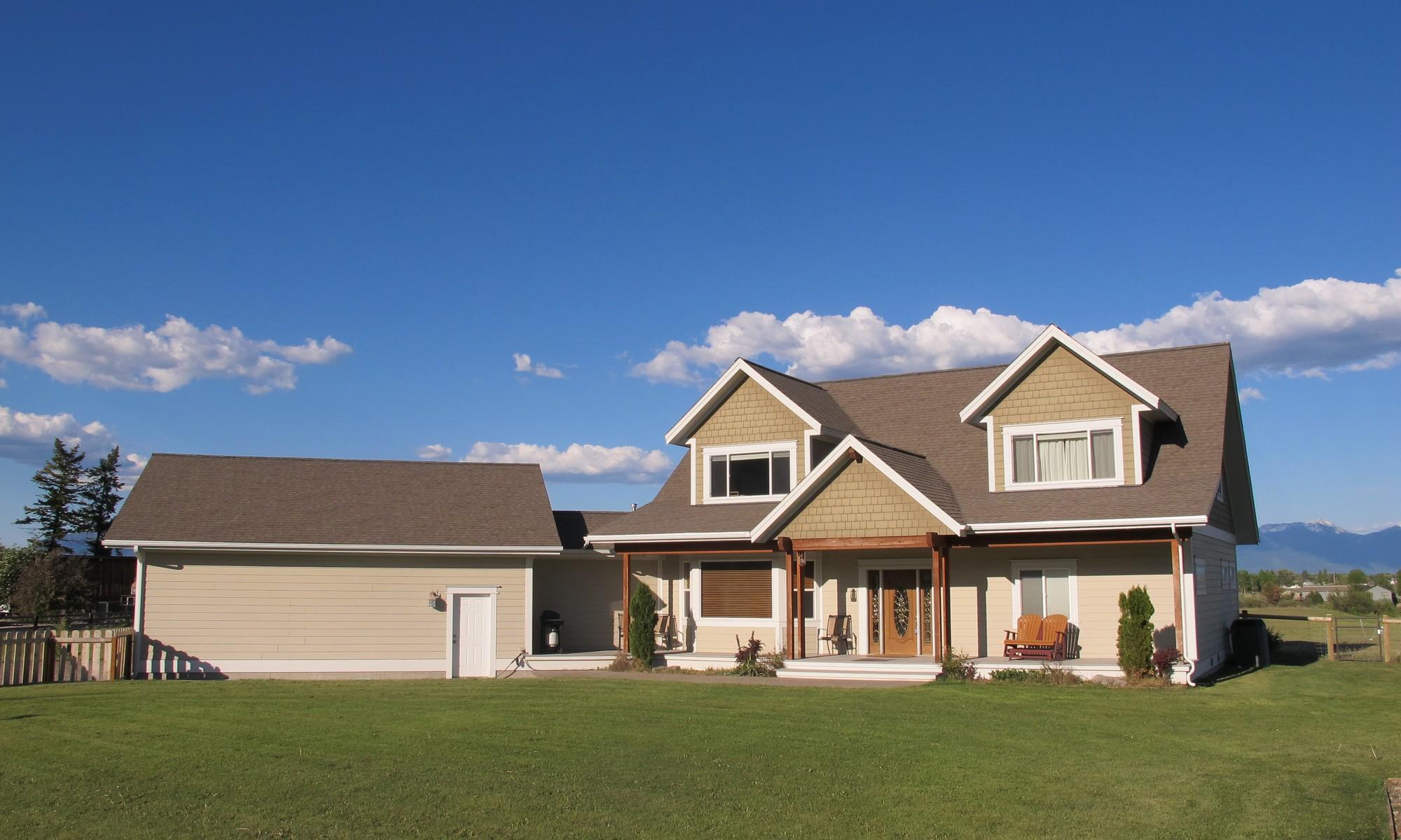 Einfamilienhaus für Verkauf beim Custom Craftsman Home 229 Morning Star Drive Kalispell, Montana 59901 Vereinigte Staaten