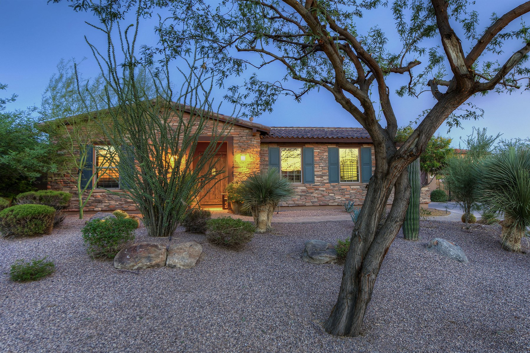 Single Family Home for Sale at Tastefully upgraded home is nestled on a Sera Brisa 17875 N 94th Way Scottsdale, Arizona 85255 United States