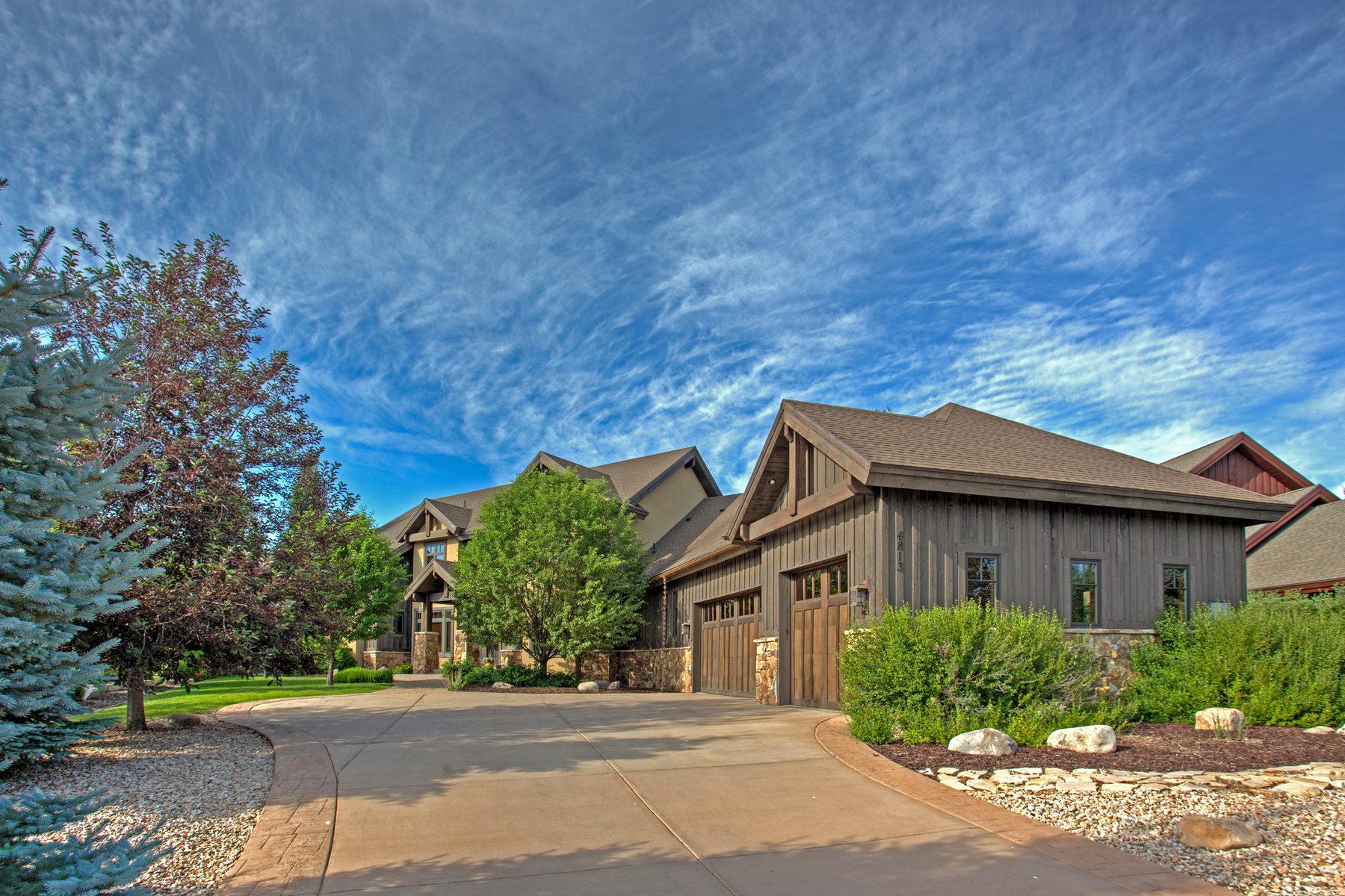 独户住宅 为 销售 在 Beautifully Appointed Willow Creek Estates Home with Amazing Views 4813 Last Stand Dr 帕克城, 犹他州 84098 美国