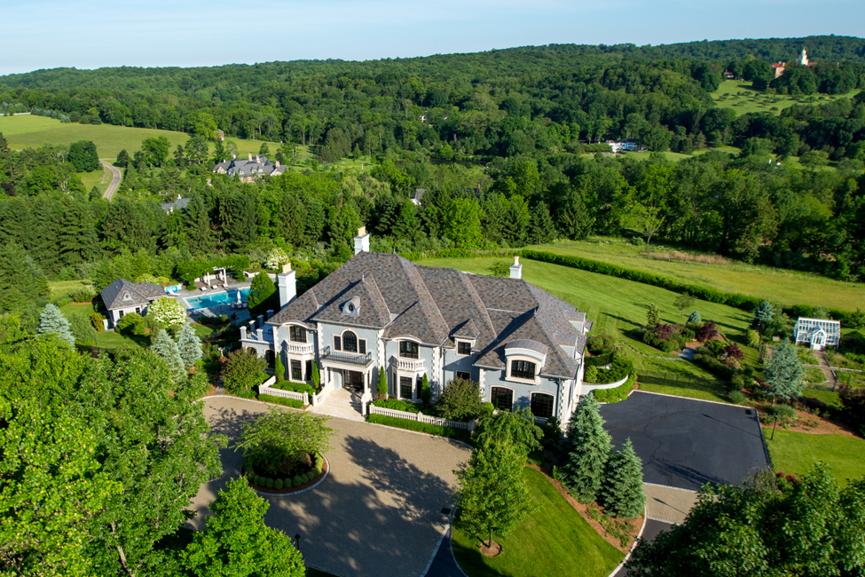 Single Family Home for Sale at Spectacular European Estate 3 Spring Meadow Lane Mendham, 07945 United States