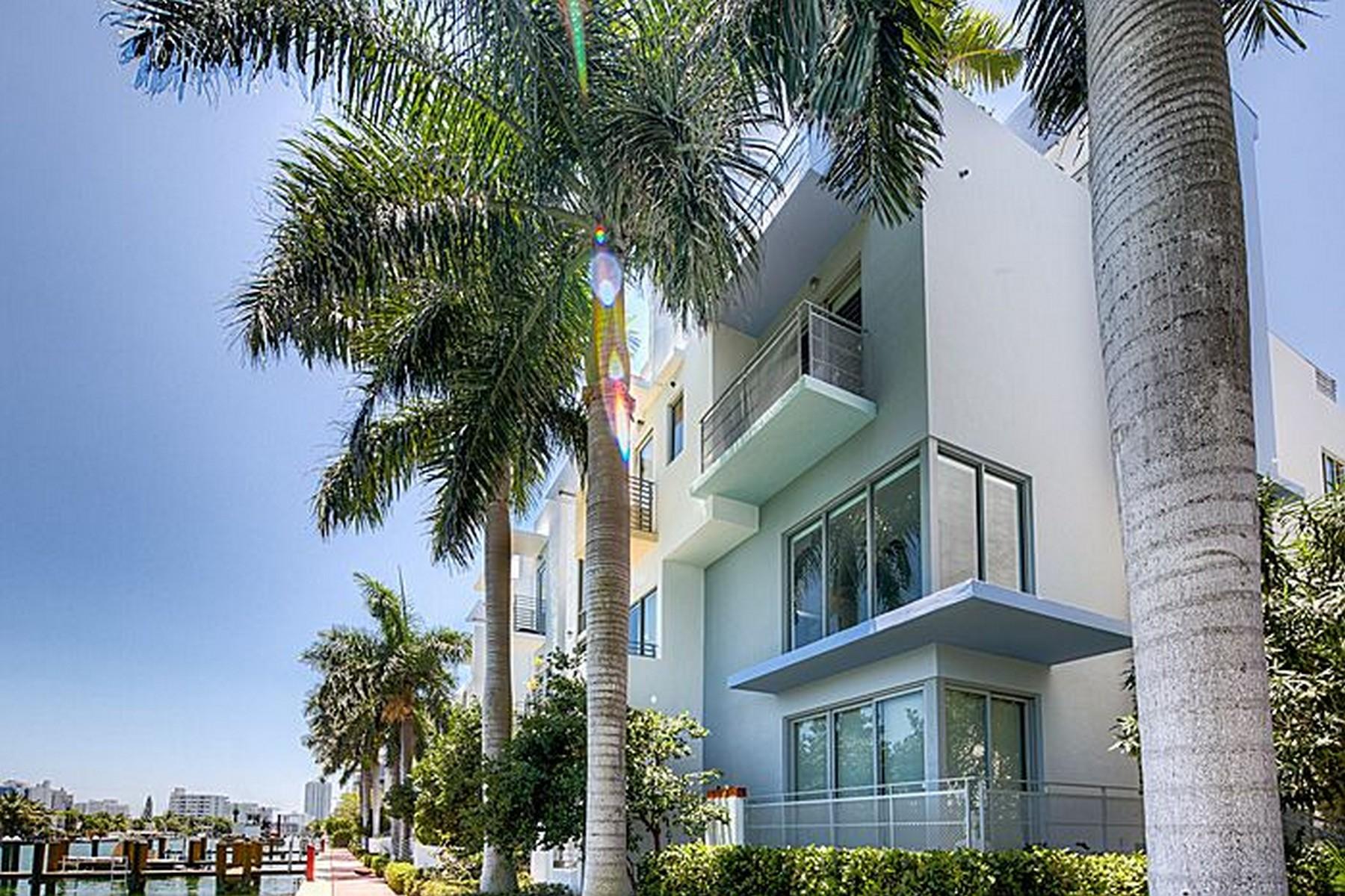 Appartement en copropriété pour l Vente à 171 N Shore Dr Unit 5 Miami Beach, Florida 33141 États-Unis