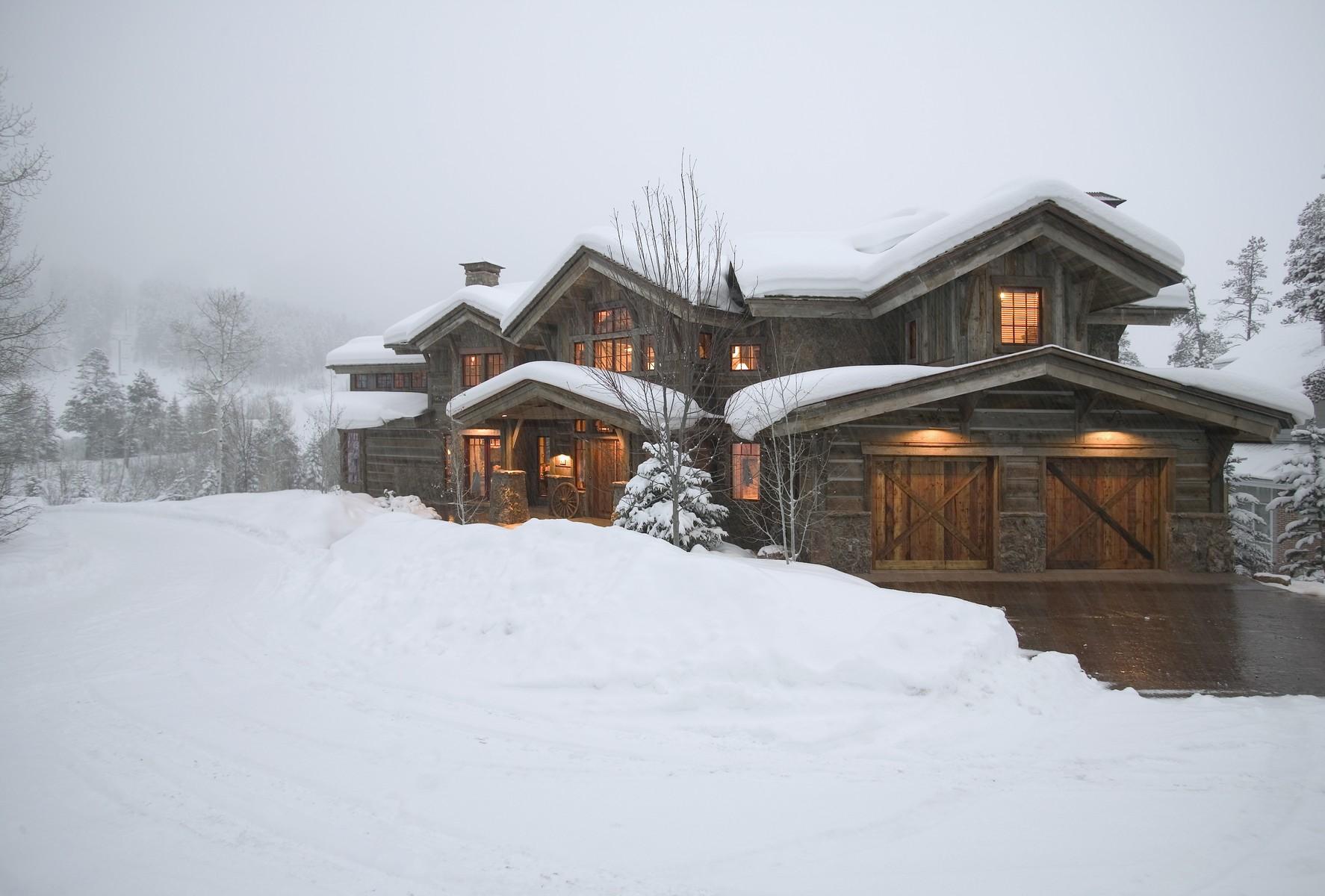 Casa para uma família para Venda às Luxury Ski-In / Ski-Out 3055 Temple Knoll Steamboat Springs, Colorado 80487 Estados Unidos