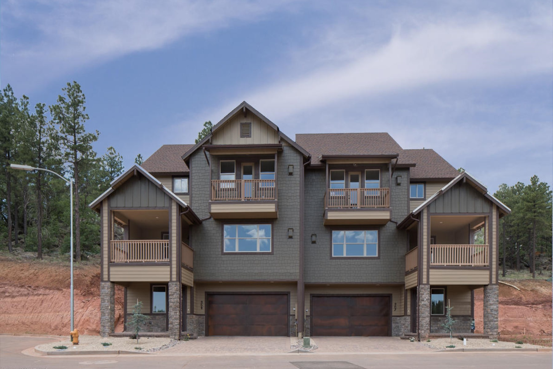 Townhouse for Sale at magnificent San Francisco and Mt. Elden Peak views from this townhouse. 495 N Moriah DR Lot 34 Flagstaff, Arizona 86001 United States