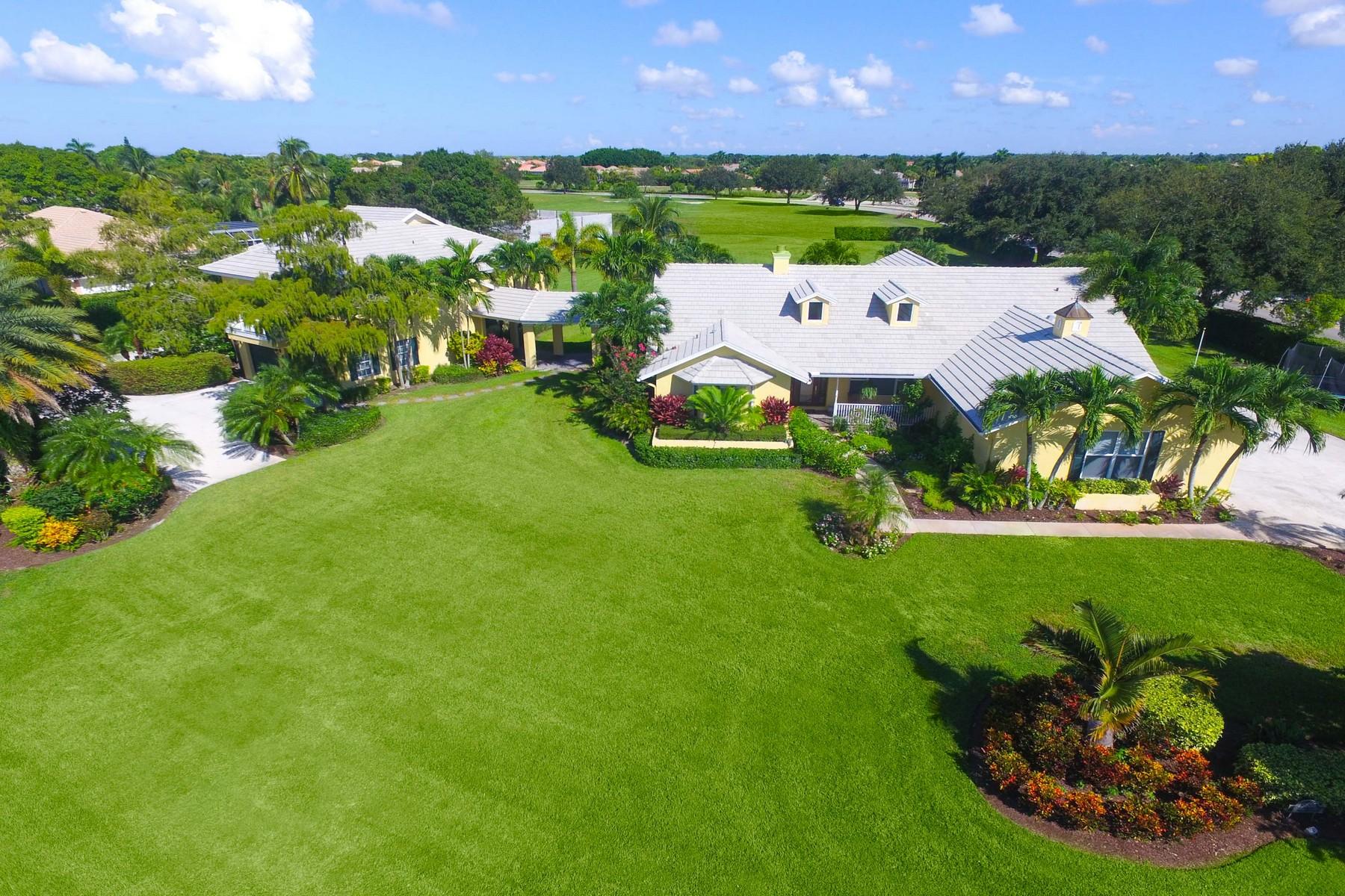 Single Family Home for Sale at 15535 Sunward Street Aero Club, Wellington, Florida, 33414 United States