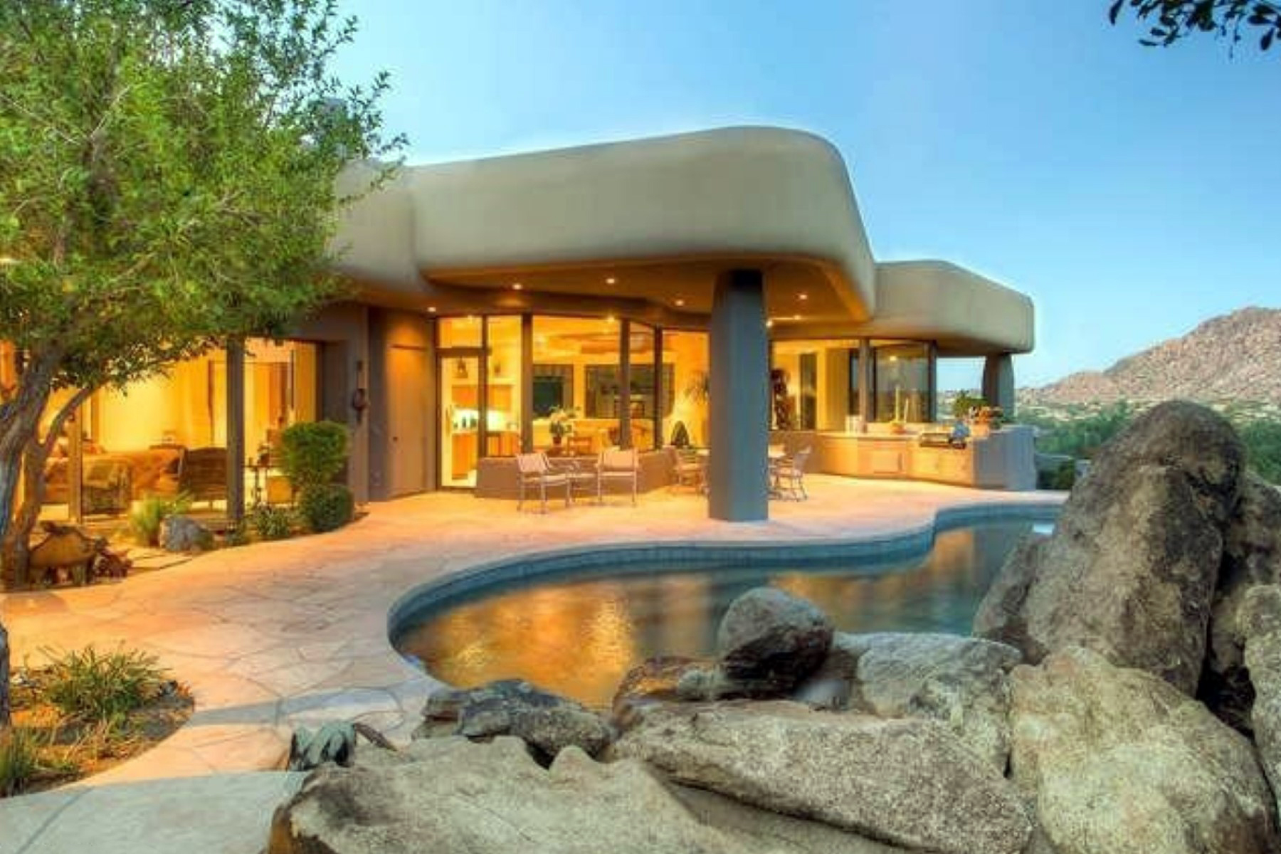 Single Family Home for Sale at Design Masterpiece in Hillside Villas at Desert Highlands 10040 E Happy Valley Rd #1027 Scottsdale, Arizona 85255 United States