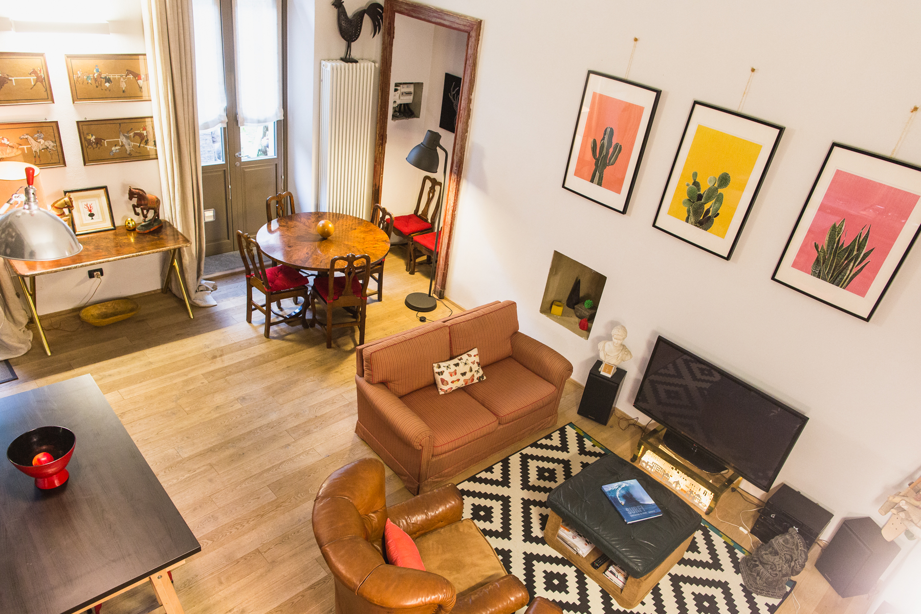 Additional photo for property listing at Charming Loft in San Salvario Via Madama Cristina Turin, Turin 10125 Italia