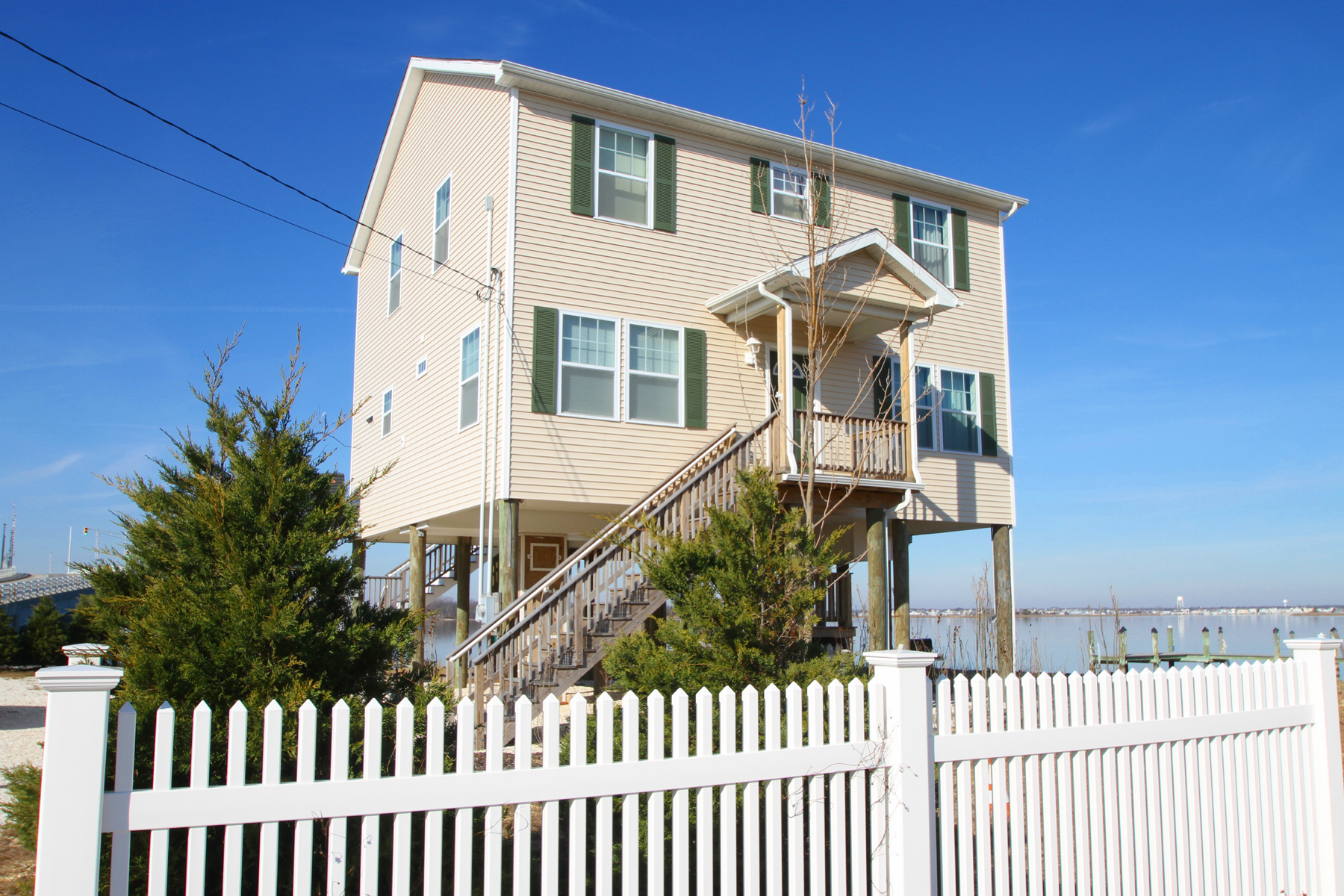 Single Family Home for Sale at Mantoloking Borough Bayfront 1198 Bay Avenue Mantoloking, New Jersey 08738 United States