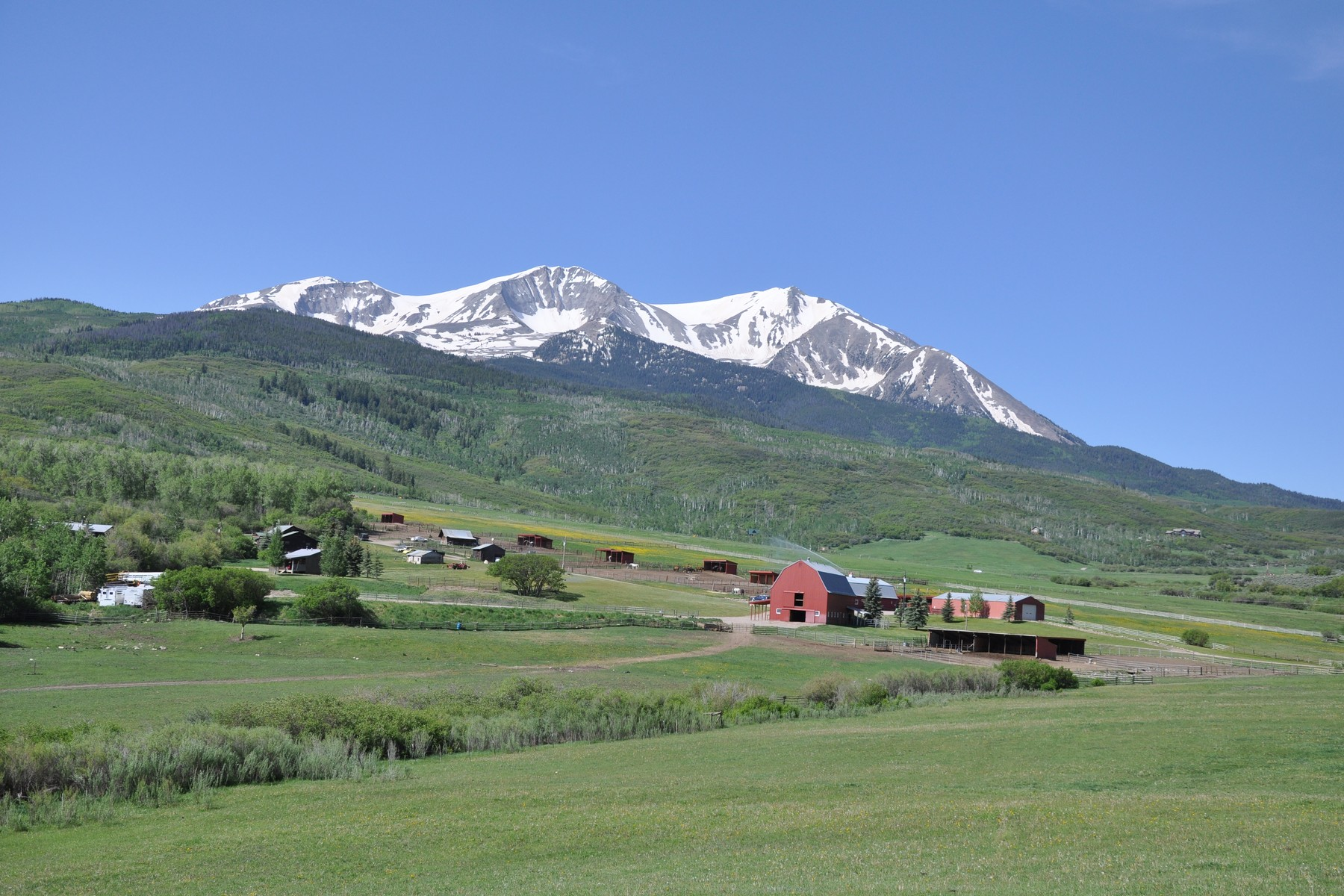 sales property at Sopris Mountain Ranch