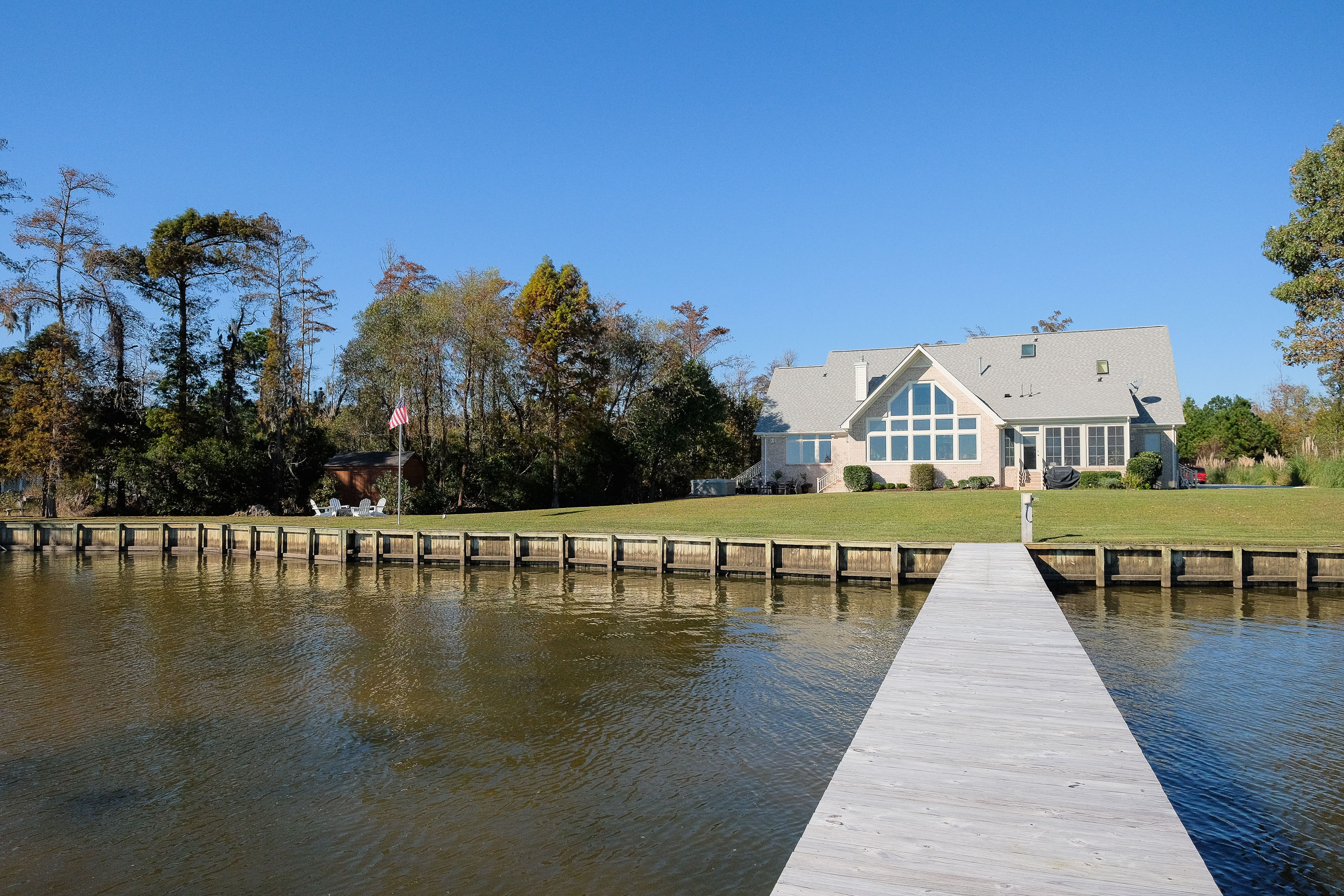 Single Family Home for Sale at Albemarle Shores Waterfront 140 Osprey Drive Edenton, North Carolina 27932 United States