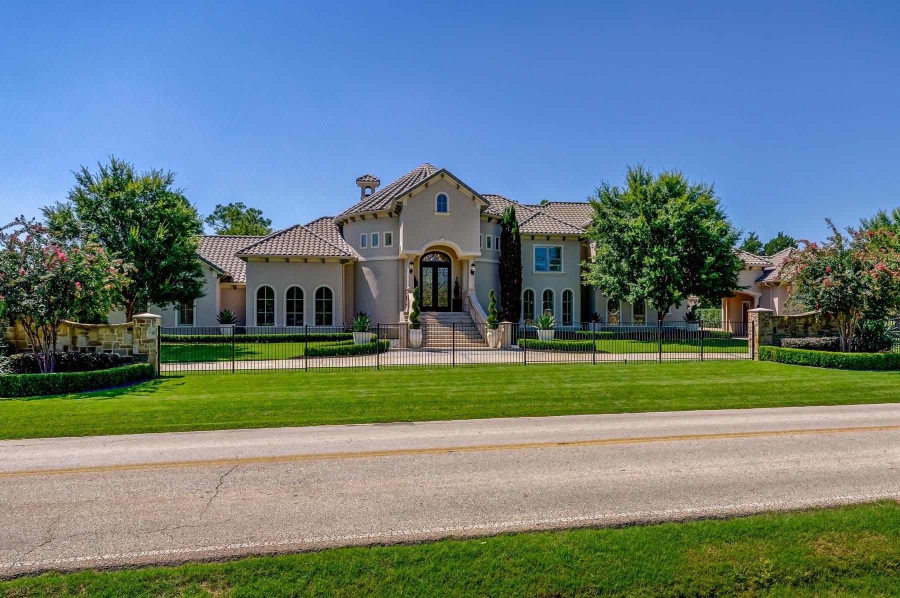 Vivienda unifamiliar por un Venta en Westlake Transitional Soft Contemporary Offers Resort Style Living 1567 Dove Road Westlake, Texas, 76262 Estados Unidos