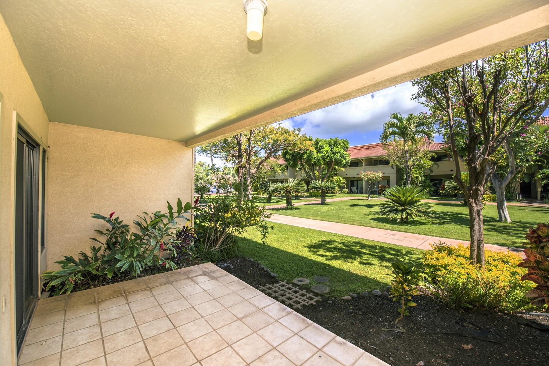 Кооперативная квартира для того Продажа на Affordable South Maui Condo with Pool & Tennis Court 1450 South Kihei Road, Maui Gardens C104 Kihei, Гавайи, 96753 Соединенные Штаты