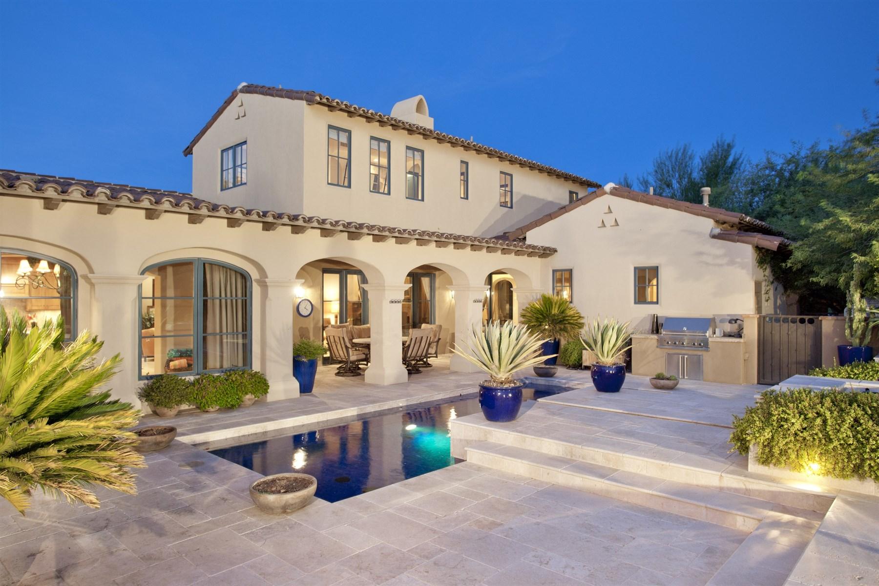 Maison de ville pour l Vente à Extraordinary Home in Private Guard Gated Community of Silverleaf 19978 N 101st Place Scottsdale, Arizona 85255 États-Unis