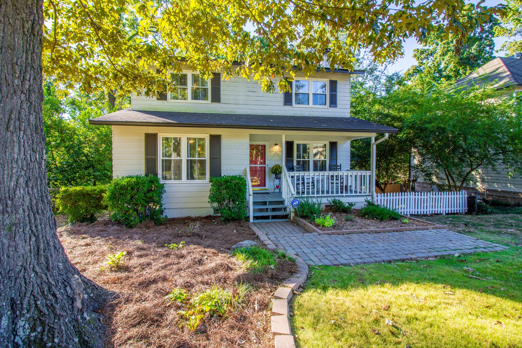 Einfamilienhaus für Verkauf beim Charming And Spacious Bungalow In Brookhaven 1799 Georgian Terrace Ashford Park, Atlanta, Georgia, 30341 Vereinigte Staaten