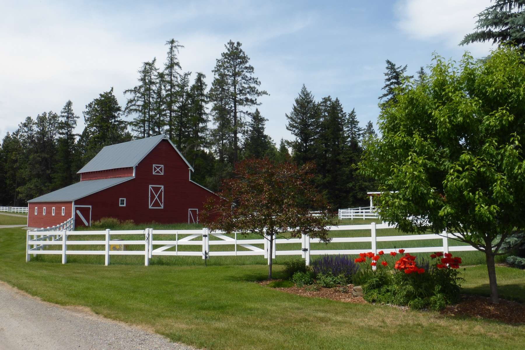 농장 / 목장 / 농장 용 매매 에 65 Acre Ranch on the Whitefish River 4985 Whitefish Stage Road Whitefish, 몬타나 59937 미국
