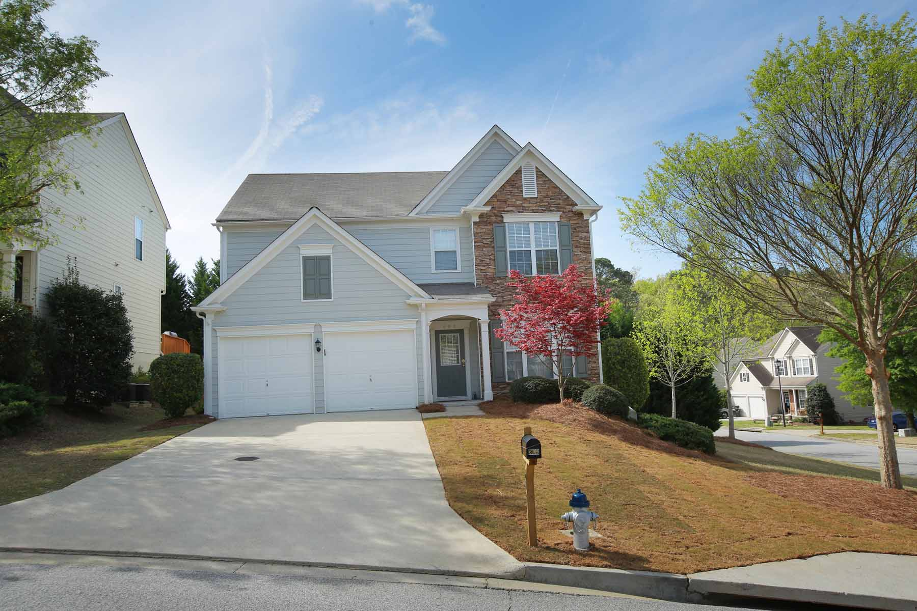 Maison unifamiliale pour l Vente à Great Brookshire neighborhood with wonderful amenities 609 Wallnut Hall Trail Woodstock, Georgia, 30189 États-Unis