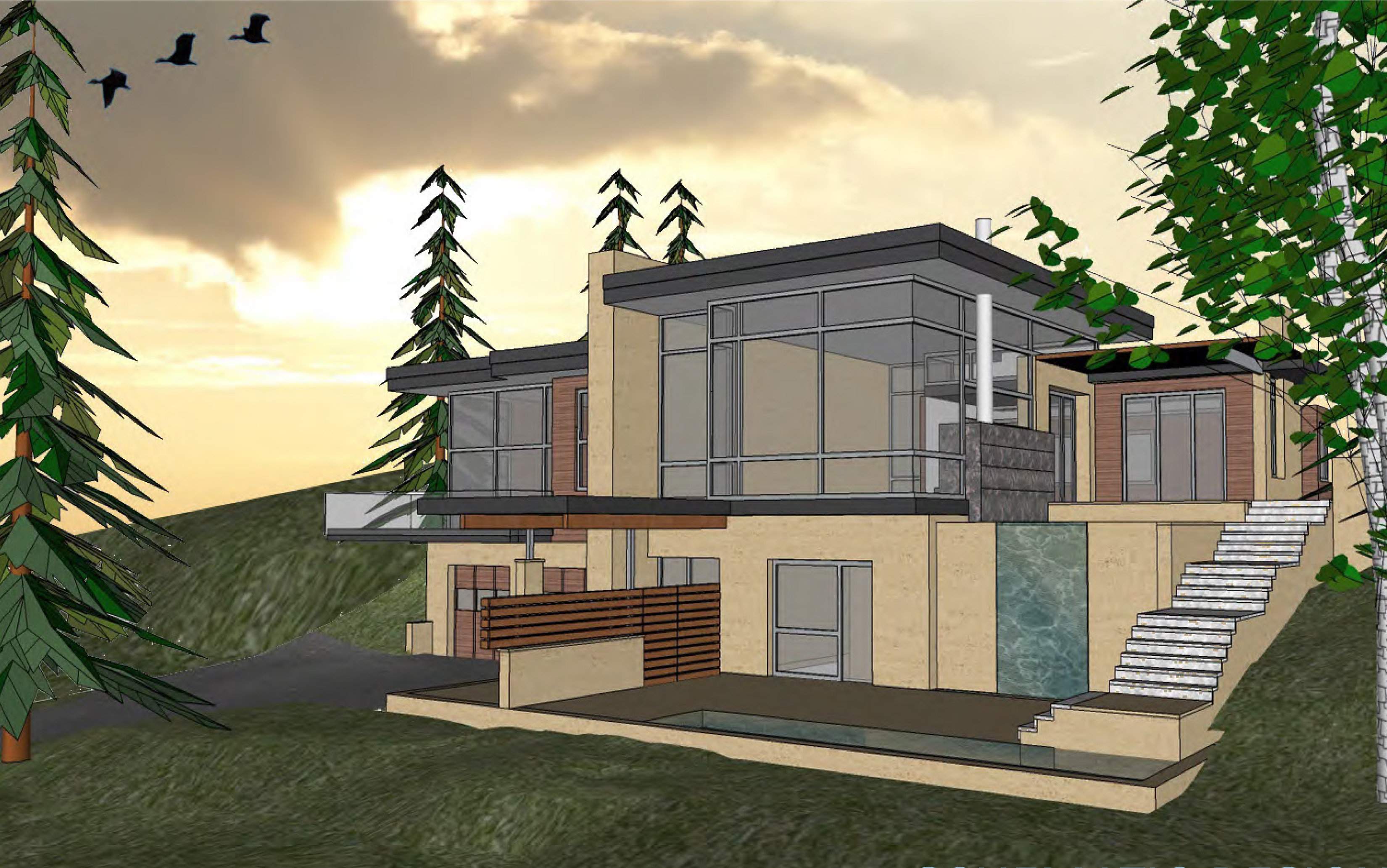 Casa para uma família para Venda às New Construction on Red Mountain 47 Bennett Court Aspen, Colorado 81611 Estados Unidos