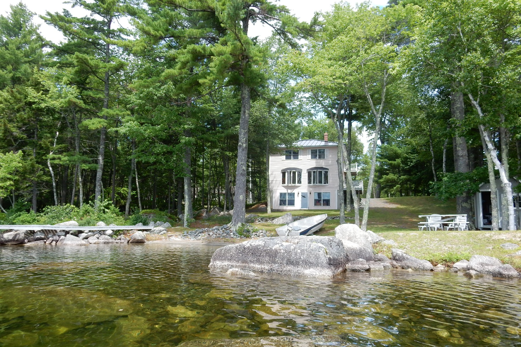 Single Family Home for Sale at The Lake House 159 Sargent Drive Ellsworth, Maine, 04605 United States