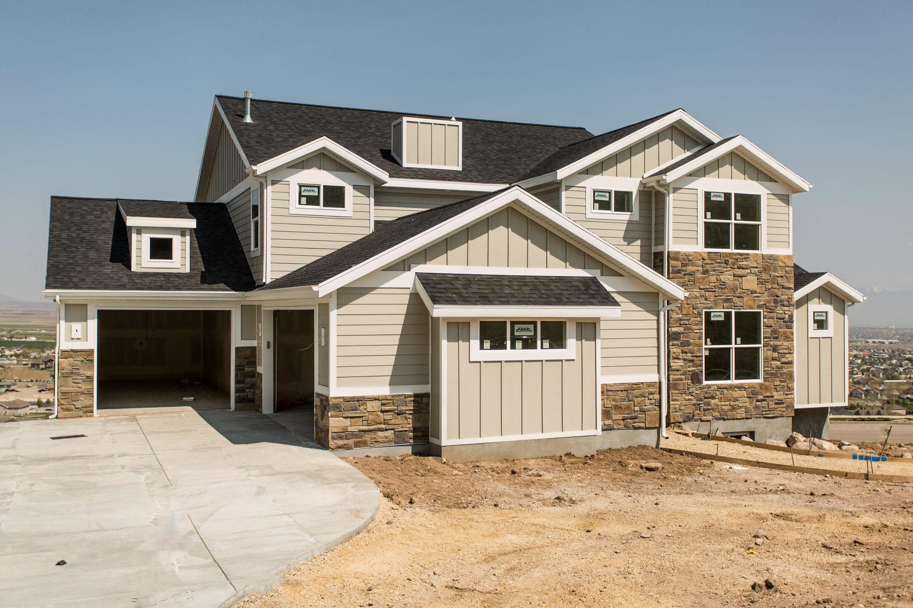 Nhà ở một gia đình vì Bán tại Custom Home in Fort Herriman Cove 14442 S Herriman View Cove Lot #313 Herriman, Utah 84096 Hoa Kỳ