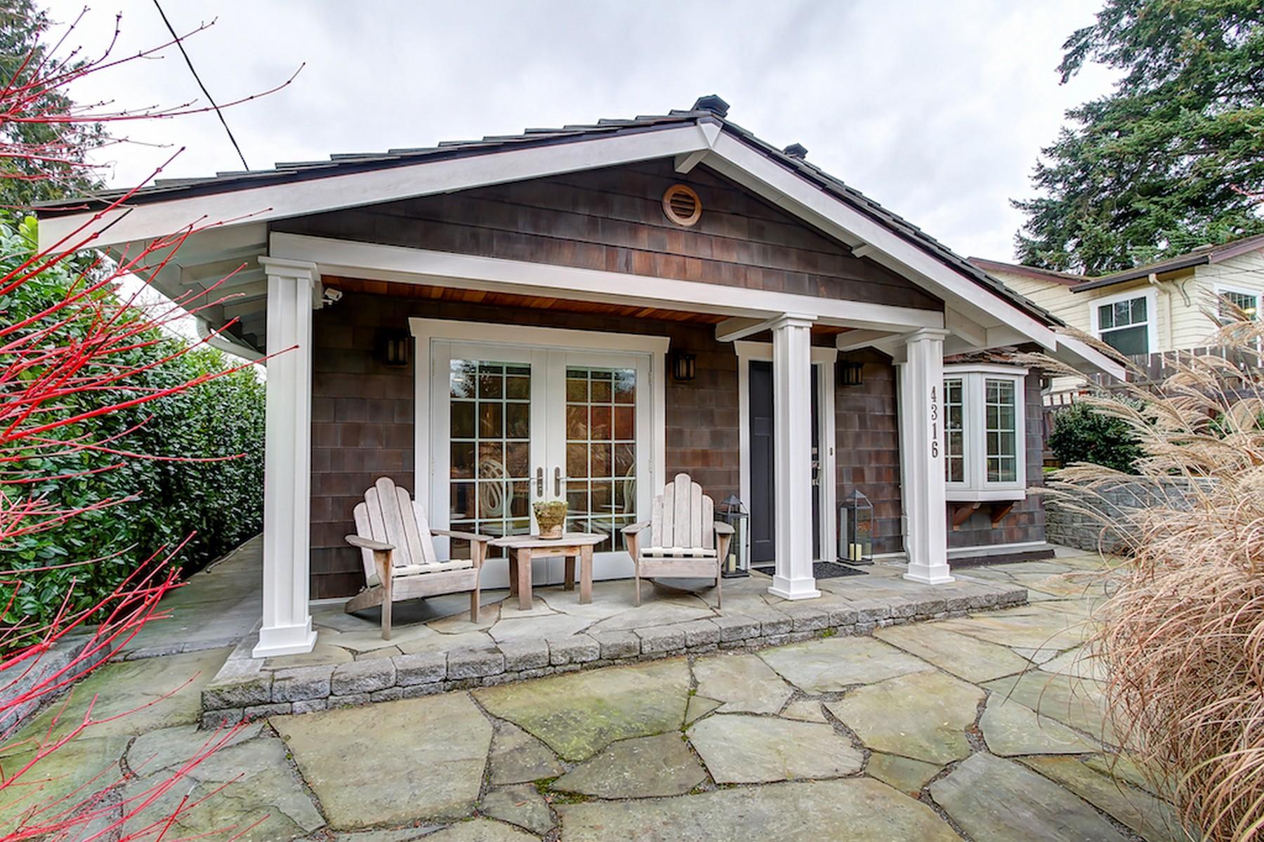 Single Family Home for Sale at Gatewood 4316 SW Mills St Seattle, Washington 98136 United States