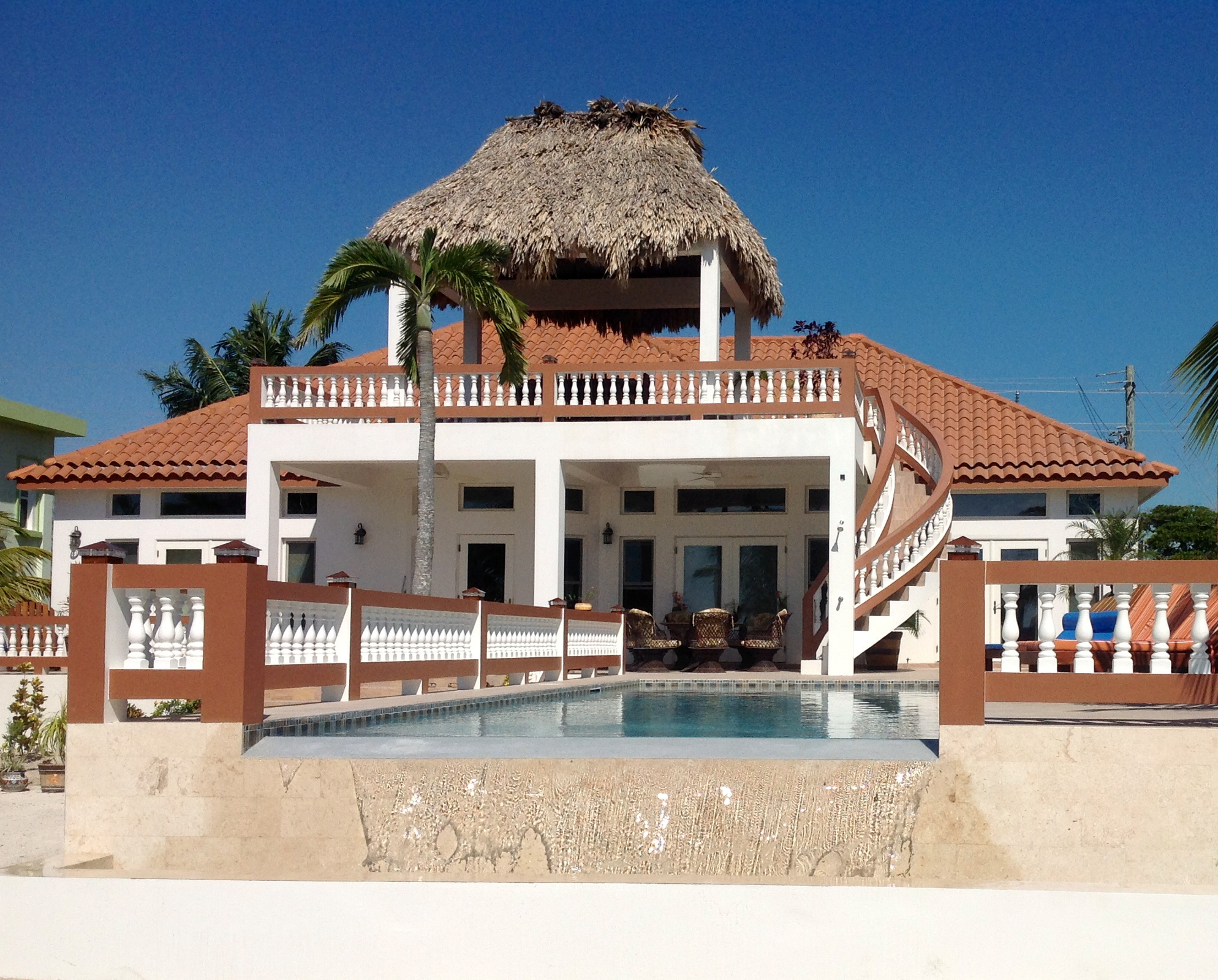 Single Family Home for Rent at Casa Checking Out San Pedro Town, Ambergris Caye Belize