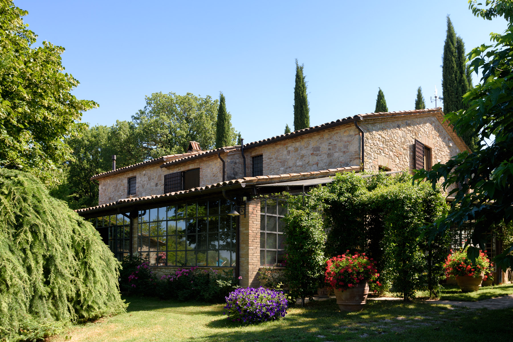 Single Family Home for Sale at Charming house overlooking the town of Todi Todi, Italy