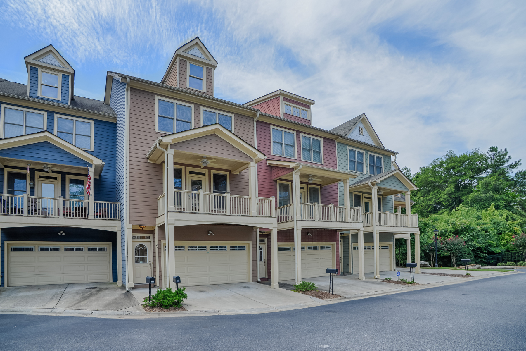 Townhouse for Sale at Hip West Midtown Townhouse 1079 Marietta Boulevard NW #24 Atlanta, Georgia 30318 United States