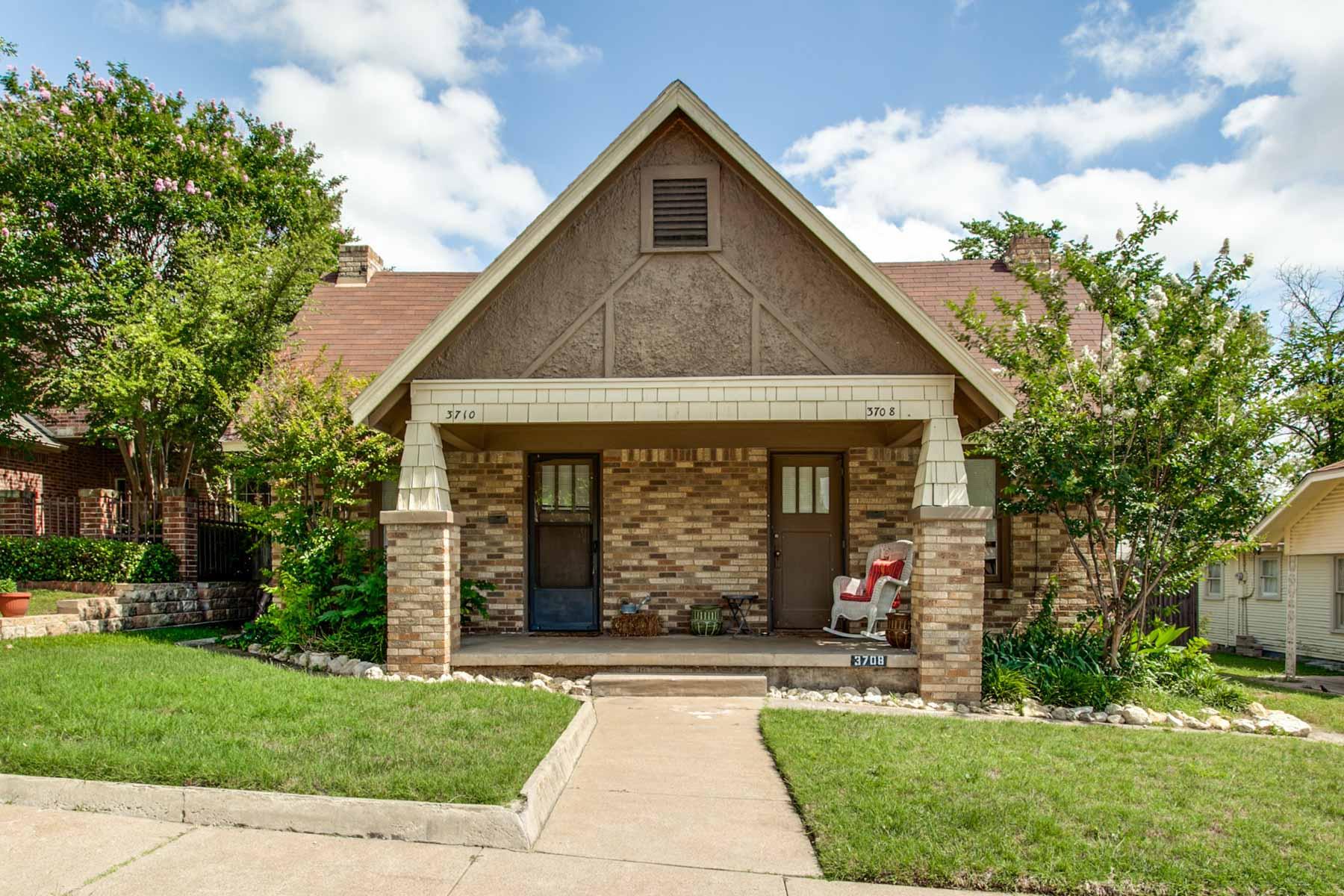 Nhà ở nhiều gia đình vì Bán tại Mutli Family Duplex 3710 W. 5th Street Fort Worth, Texas, 76107 Hoa Kỳ