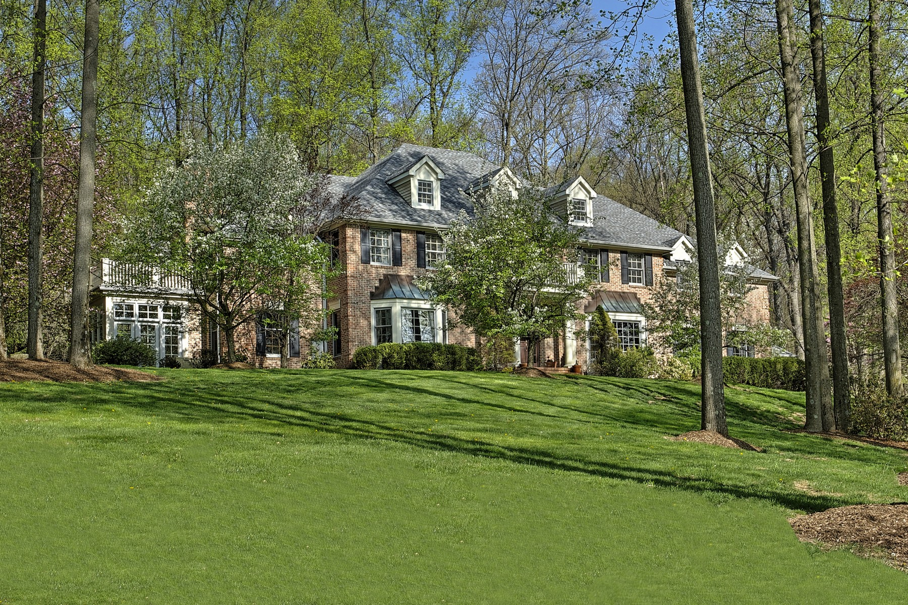 sales property at Stately Brick Colonial