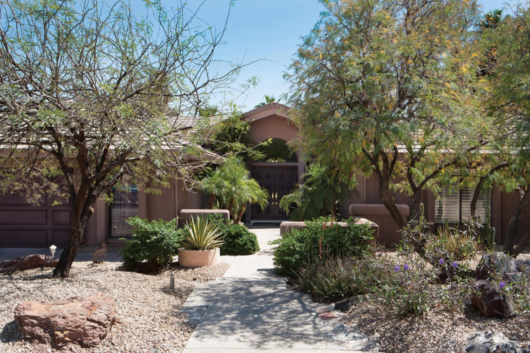 sales property at peaceful home tucked in a gated community
