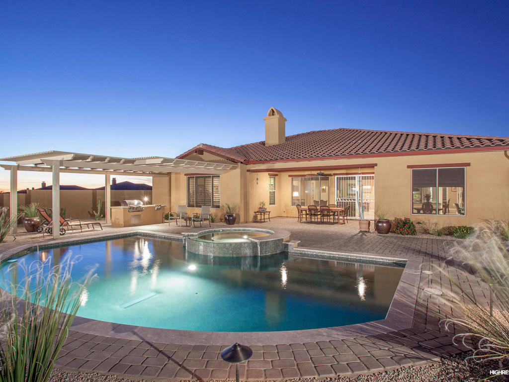 Single Family Home for Sale at Open Floorplan in Mirabel Village 36927 N 109th Way #22 Scottsdale, Arizona 85262 United States
