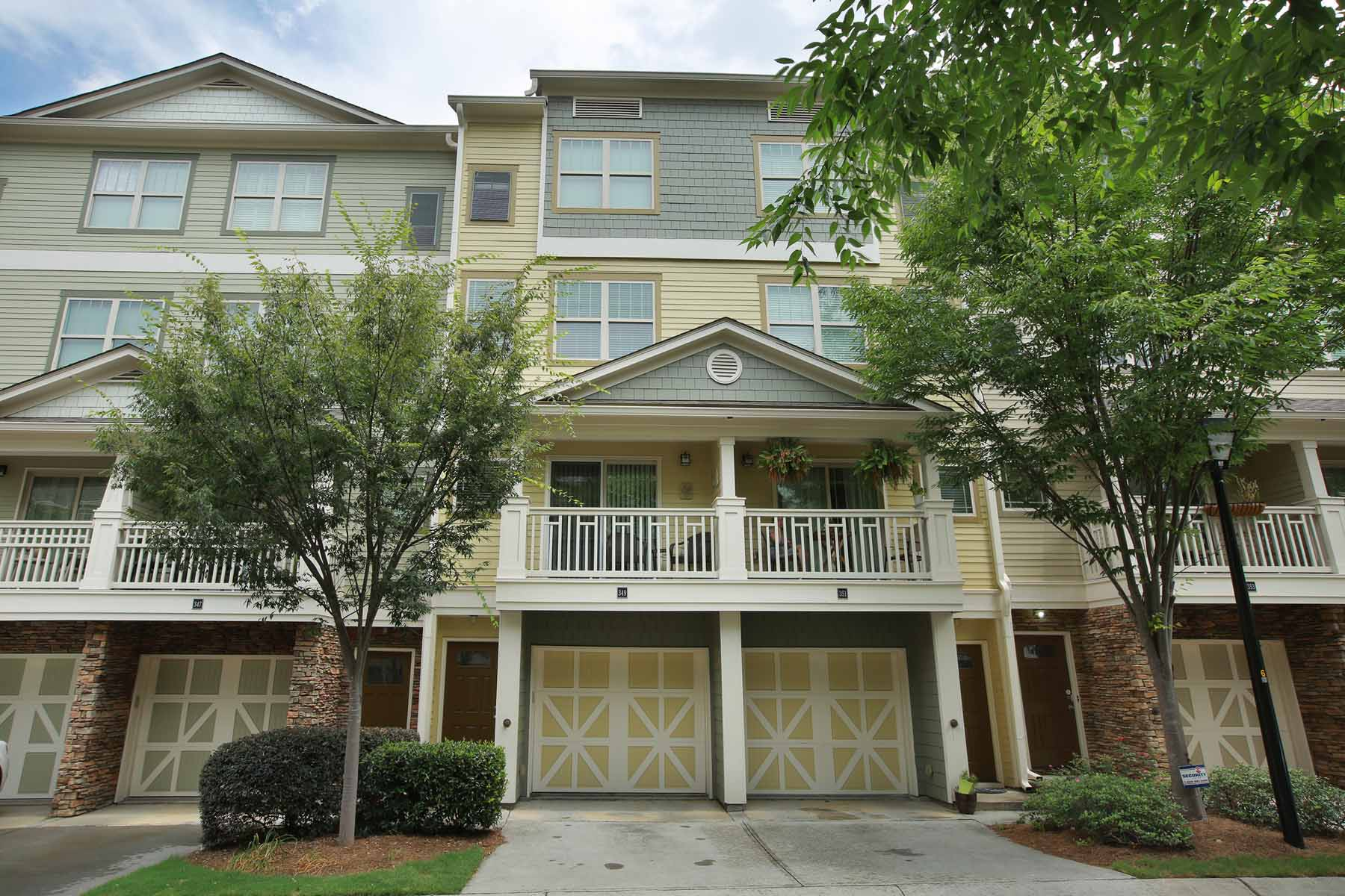 Townhouse for Sale at City Park Townhome in Midtown 216 Semel Circle Unit 349 Atlanta, Georgia, 30309 United States