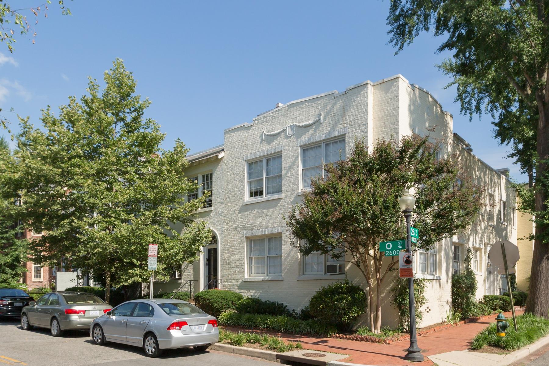 Appartement en copropriété pour l Vente à Georgetown 2603 O Street Nw 1 Georgetown, Washington, District De Columbia 20007 États-Unis