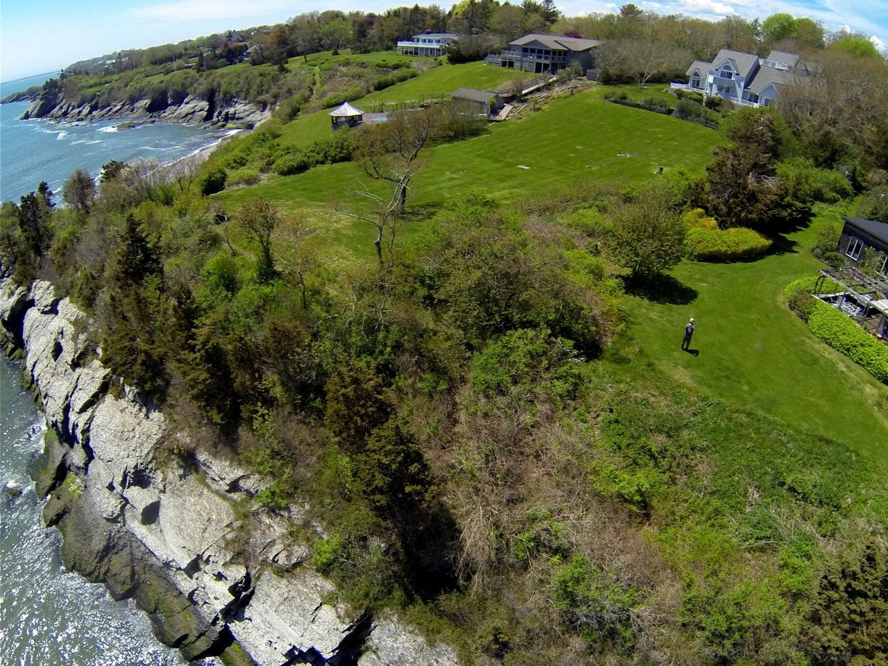 Terrain pour l Vente à Indian Avenue Waterfront 217 Indian Avenue Portsmouth, Rhode Island 02871 États-Unis