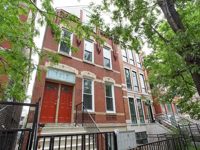 Кооперативная квартира для того Продажа на Charming Top Floor Duplex 1335 N Greenview Avenue Unit 2R West Town, Chicago, Иллинойс 60642 Соединенные Штаты