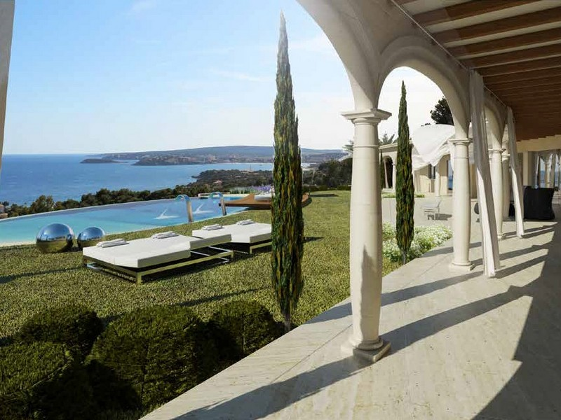Property For Sale at Villa with panoramic views in Costa d´en Blanes