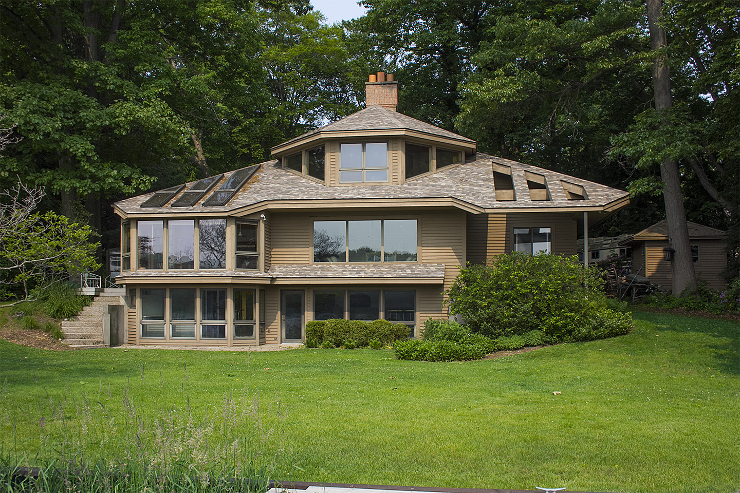 Single Family Home for Sale at Refined Lake Michigan retreat 145 Crestwood Drive Holland, Michigan 49424 United States