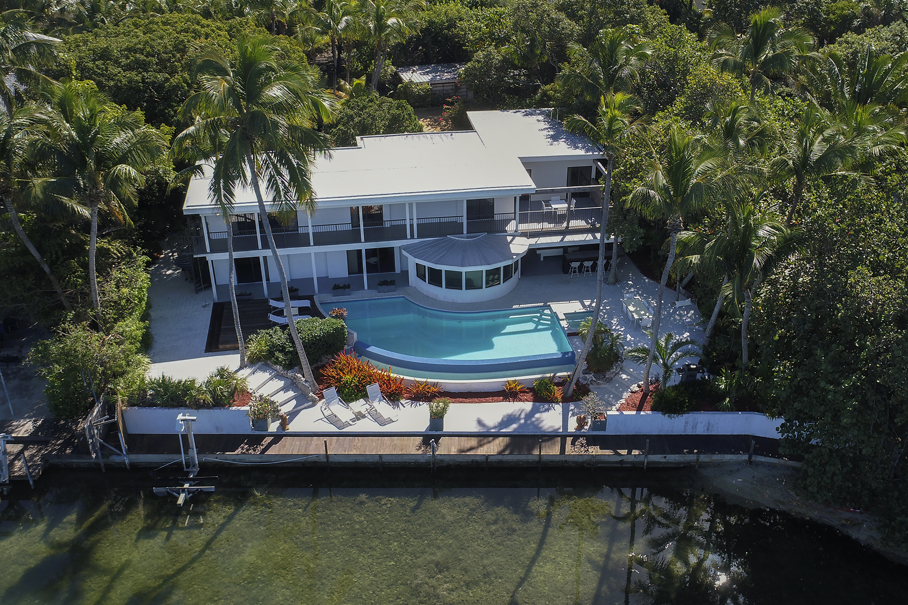 Single Family Home for Sale at Iconic Bayfront Estate 140 Madeira Road Islamorada, Florida 33036 United States